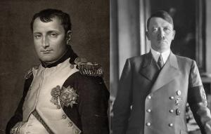 나폴래옹과 히틀러 - 두 독재자